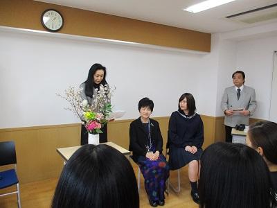 東京目白アンカークラブ新役員就任式
